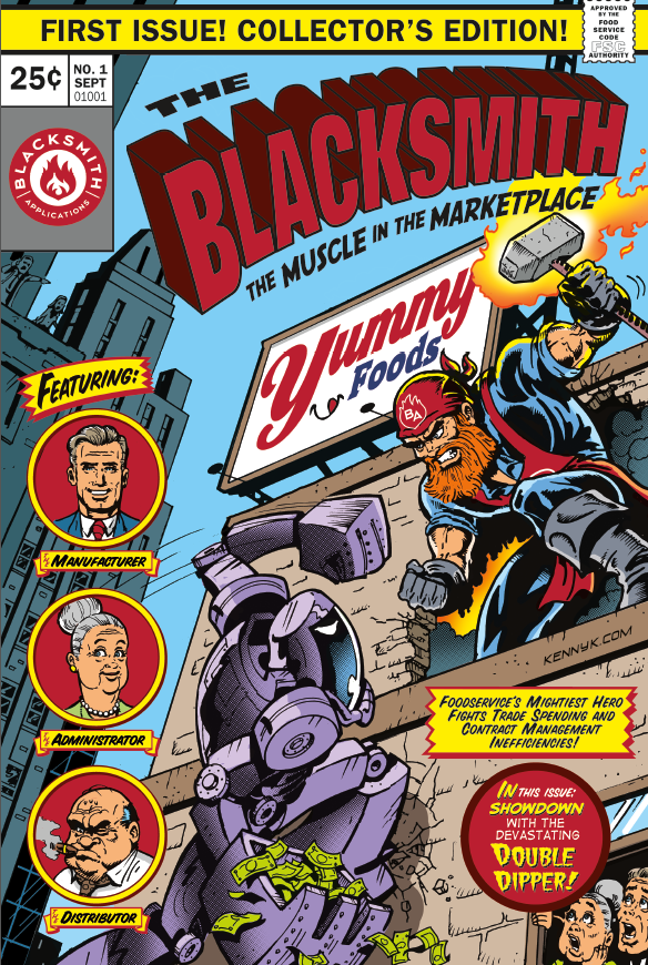 comic issue 1 cover